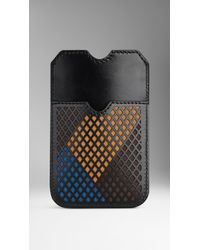 Burberry City Motif Iphone 55s Case - Lyst