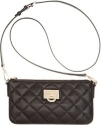 DKNY Gansevoort Quilted Small Crossbody - Lyst