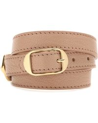 Balenciaga - Giant Leather Bracelet - Lyst