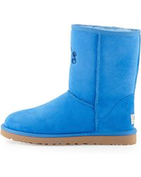 Ugg Monogrammed Classic Short Boot - Lyst