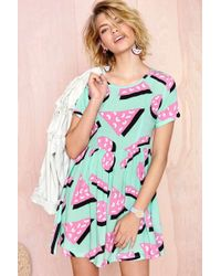 Nasty Gal Lazy Oaf Shape Up Dress - Lyst