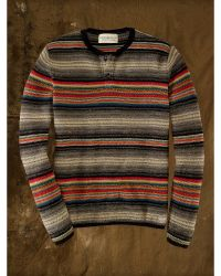 Ralph Lauren Ombré Striped Sweater - Lyst