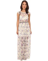 Free People Cherry Blossom Maxi Dress - Lyst