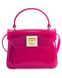 Furla Women'S 'Candy - Mini' Top Handle Crossbody Bag - Pink - Lyst
