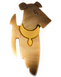 Etro - Dog Brooch - Lyst