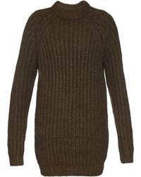 NLST - Fisherman Wool Sweater Dress - Lyst
