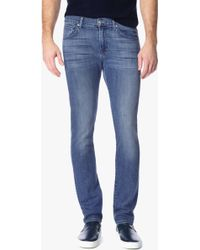 7 For All Mankind | Foolproof Denim: Paxtyn Skinny In Tribute | Lyst