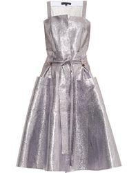 Jonathan Saunders Naomi Metallic Dress - Lyst