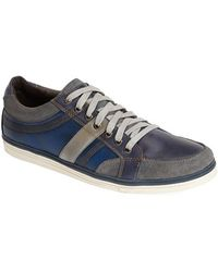 Kenneth Cole Reaction 'Post Up' Leather Sneaker - Lyst