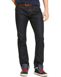 Tommy Hilfiger Straight Selvedge Rinse Denim - Lyst