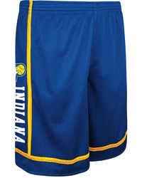 Adidas Mens Indiana Pacers Original Joint Mesh Shorts - Lyst