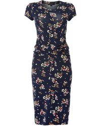 Therapy Ditsy Bird Print Jersey Dress - Lyst