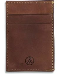 Alternative Apparel - Flint Leather Wallet - Lyst