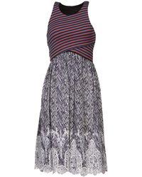 Thakoon Knee Length Dress - Lyst