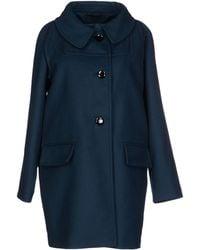 John Galliano Blue Coat - Lyst