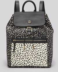 Tory Burch Backpack Kerrington Dot Pony Printed - Lyst