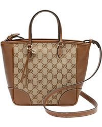Gucci Bree Small Gg Canvas Tote Bag - Lyst