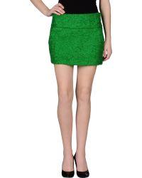 Aspesi Mini Skirt - Lyst