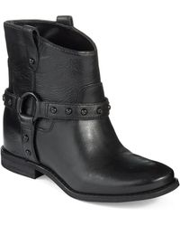 Enzo Angiolini Rokira Ankle Boots - Lyst