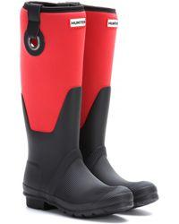 Hunter Original Scuba Eyelet Rubber Wellington Boots - Lyst