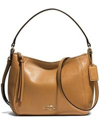 Coach Madison Top Handle in Leather - Lyst