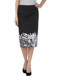 Max Mara Studio 3/4 Length Skirt - Lyst