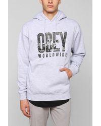 Obey Og New York Pullover Hoodie Sweatshirt - Lyst