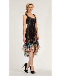 Komarov Chiffon Samba Dress - Lyst