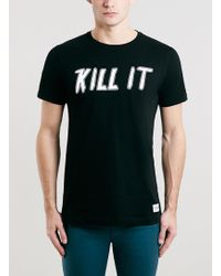 Topman A Question Of Kill It Crew Neck Tshirt - Lyst