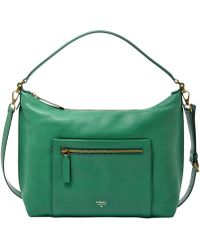 Fossil Vickery Leather Shoulder Bag - Lyst