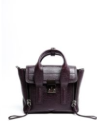 3.1 Phillip Lim Pashli Mini Satchel - Lyst