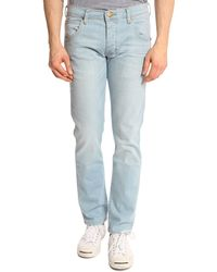 Wrangler Spencer Light Blue Jeans - Lyst