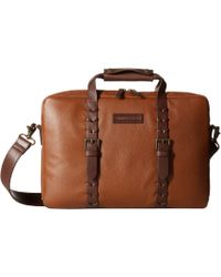 Johnston & Murphy - Zip Top Briefcase - Lyst