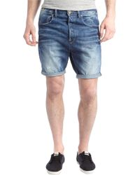 G-star Raw Tpared Watton Denim Shorts - Lyst