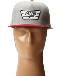Vans Full Patch Snapback - Lyst