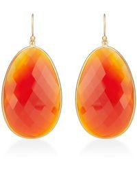 Kothari - Extra Large Egg Slice Earrings - Lyst