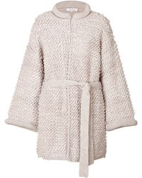 Paul & Joe Alpacawool Cardigan Coat - Lyst