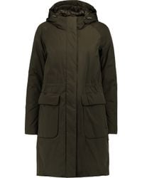 Add - Ped Shell Hooded Parka - Lyst