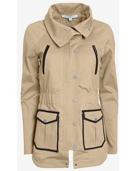 Veronica Beard Exclusive Two Pocket Military Jacket - Lyst