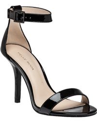 Pelle Moda | Kacey Patent-Leather Sandals | Lyst