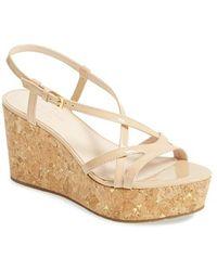 Kate Spade 'Talanse' Wedge Sandal - Lyst