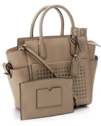 Reed Krakoff Clay Leather Mini 'Atlantique Bionic' Tote Bag - Lyst
