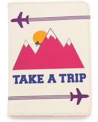 Jonathan Adler - Take A Trip Passport Case  - Lyst