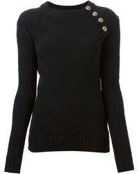 Balmain Knit Sweater - Lyst