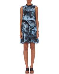 Proenza Schouler Asymmetric-tiered Dress - Lyst
