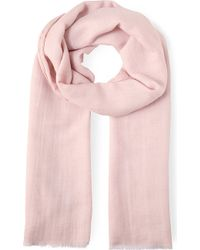 Max Mara Cashmere Wool and Silk-blend Scarf - Lyst