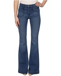 Hudson Taylor High Waist Flare Jeans In Superior - Lyst