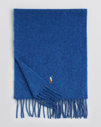 Ralph Lauren Polo Bloomingdales Exclusive Cashmere Blend Scarf - Lyst