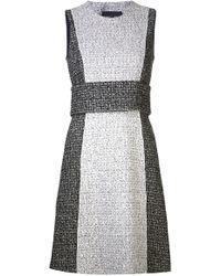 Proenza Schouler Sleeveless Tweed Dress - Lyst
