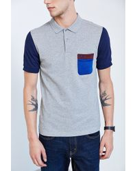 Fred Perry Tricot Pocket Pique Polo Shirt - Lyst